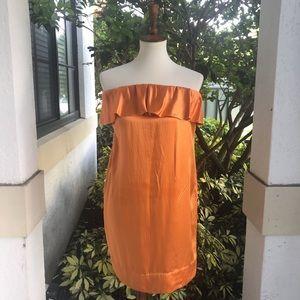 3.1 Phillip Lim Silk Off The Shoulder Dress